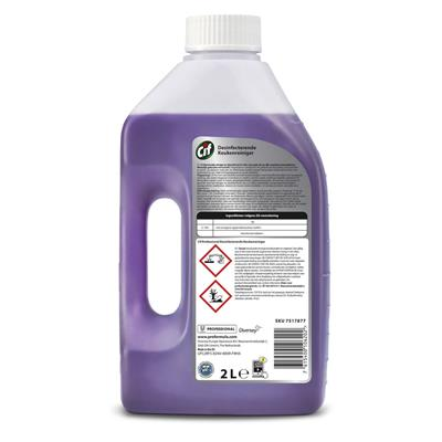Cif Professional concentrated Kitchen Cleaner Disinfectant 6x2L